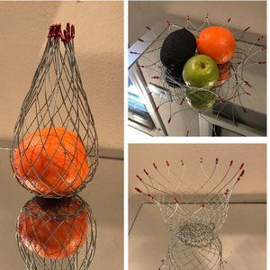 New wire flexible fruit plate